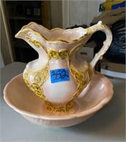 Pitcher and Bowl