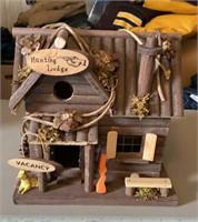 Hunting Lodge Bird house