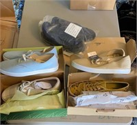 5 pairs of new shoes
