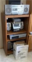 Shelf &  Stereo Sysyem