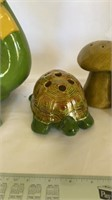 Frog and Turtle decor
