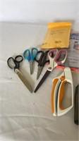 Scissors and decor