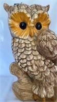 Large Ceramic Owl.
