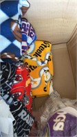 NFL and Sports Fleece Material.
