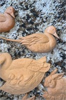 Ceramic Animal Decor