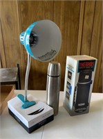 Thermos's and Clip-On Light
