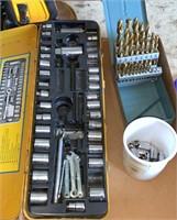 Sockets and drill bits