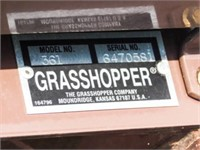 2014 Grasshopper 725D, diesel