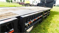 2010 Behnke Mfg. lowboy trailer, 30'middle deck