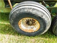 Tender trailer, tandem axle, Briggs 3.5hp gas