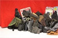 Box Lot of Pistol Holsters