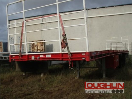 2013 Freighter Flat Top Trailer Loughlin Bros Transport Equipment - Trailers for Sale