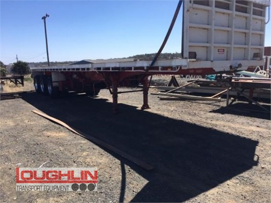 1997 Haulmark Flat Top Trailer Loughlin Bros Transport Equipment - Trailers for Sale