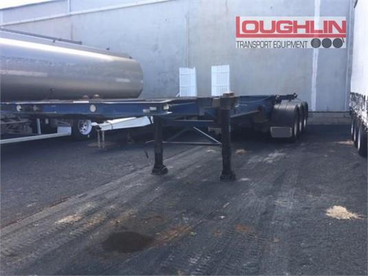 Ophee Skeletal Trailer Loughlin Bros Transport Equipment - Trailers for Sale