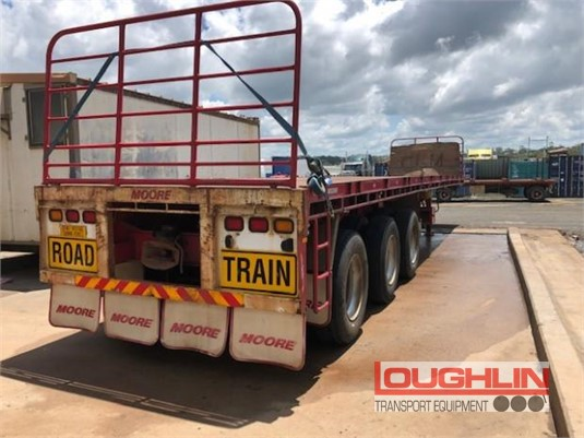 2012 Moore Flat Top Trailer Loughlin Bros Transport Equipment - Trailers for Sale