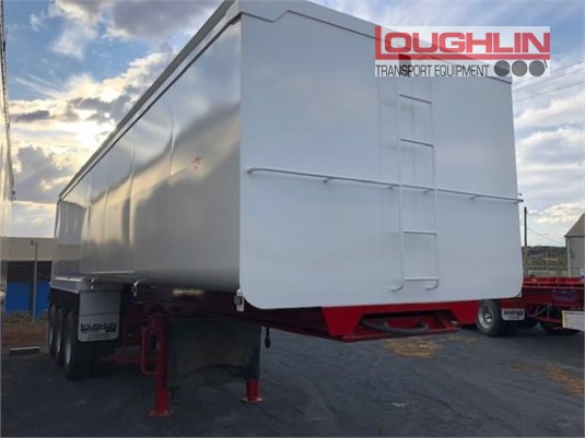 2012 Loughlin Tipper Trailer Loughlin Bros Transport Equipment - Trailers for Sale