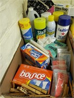 Laundry Items, Bounch, Spray Starch, Etc.
