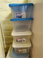 Plastic Storage, Shoe Box Size