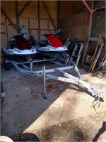 Jet Skis & Trailer Auction