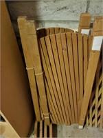 Folding Wood Gate #1