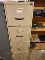 4 Drawer Metal Filing Cabinet, Letter Size
