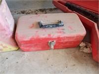 Empty Red Tool Box