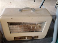 Vintage Tan Space Heater