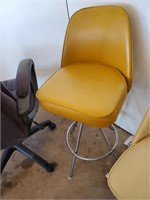 Gold Swivel Chair