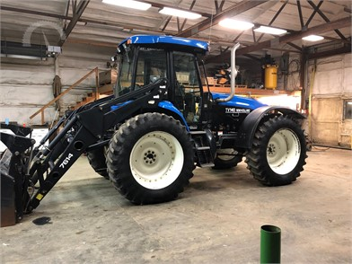 New Holland Tv140 Auction Results 19 Listings Auctiontime Com Page 1 Of 1