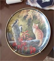 Cat Plate, Cat Book Ends, Cat Tape Dispenser, Etc