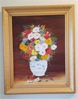 Flowers In Vase Art