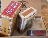 Empty Cigar Boxes
