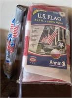 U S A Flags