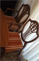 Wood Table & Six Chairs