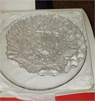 Clear Glass Platters