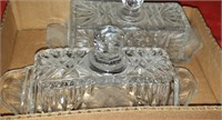 Clear Glass Butter Dishes