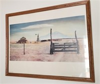 Framed The Gate And Beyond Art
