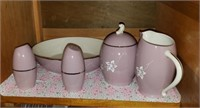 Lavender Flintridge China Dishes