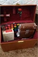 Polaroid Leather Case W/ Accessories