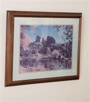 Southwest Framed Art - River