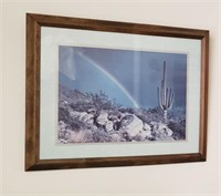 Southwest Framed Art- Cactus