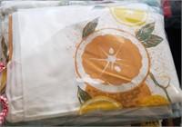 Table Cloths? Orange Table Cloth?