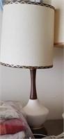 Brown & White Lamp
