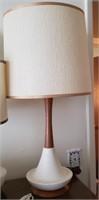 Taller Brown & White Lamp