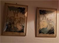 2 Pc Man & Woman Art
