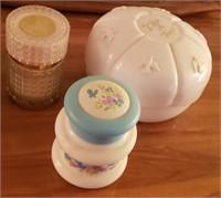 Avon Powder Jars