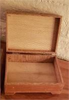 Wood Trinket Box Wood Mail Tray