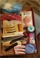 Plastic Combs, Curlers, Shower Cap, Etc