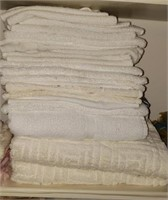 White & Off White Towels