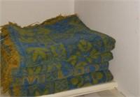 Green & Blue Towels